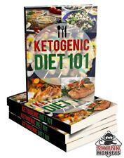 New Ketogenic Diet 101 W/ Master Resell Rights +10 Bonus eBooks W/ MRR PLR (PDF)