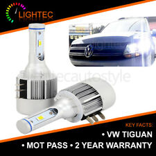2X CANBUS VW TIGUAN H15 CREE LED DRL HIGH BEAM BULBS PURE XENON WHITE 6000K