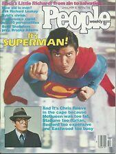 PEOPLE WEEKLY Magazine Jan 8, 1979 SUPERMAN THE MOVIE CHRIS REEVES! No Label!
