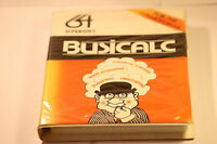 COMMODORE C64 SOFTWARE -- BUSICALC -- BY SUPERSOFT 1984  (SPREADSHEET SOFTWARE)