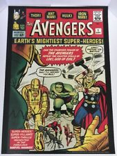 The Avengers: Earth's Mightiest Heroes #1  Marvel Poster Series