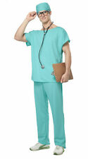 California Costumes Collections 01027 Mens Doctor Scrubs Party Costume Large