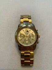 Invicta Women's Watch Angel Day-Date Yellow Gold Stainless Steel Bracelet 12551