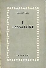 Cesarina Rossi = I PASSATORI 1ª Ed. 1956