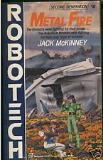 Jack McKinney ROBOTECH METAL FIRE 2nd Generation #8 pb
