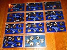 56 Proof Quarters State 1999 2000 01 02 03 04 05 06 2007 2008 2009 No Box/Coa
