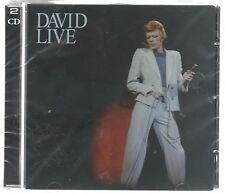 DAVID BOWIE LIVE - 2 CD SIGILLATO!!