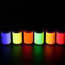 6 UV Fluo Colors Set 6/0 Fly Tying Thread 250yards Per Spool 150D Dubbing Thread