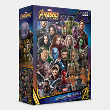 "Jigsaw Puzzles 1000 Pieces ""Avengers : Infinity War"" / Marvel / M1038"