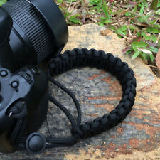 Camera Adjustable Wrist Lanyard Strap Grip Weave Cord for Paracord DSLR Trendy