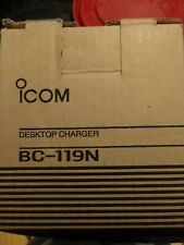 ICOM Multi-Charger BC-121N AC PWR Adapter BC-124 PWR Cord Spacer AD-99 Cup AD-94