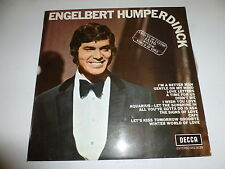 ENGELBERT HUMPERDINCK - Engelbert Humperdinck - 1969 UK 12-track Vinyl LP