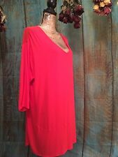 """Woman""""s Plus Size 3X Tunic By 'French Blue'. NWT"""