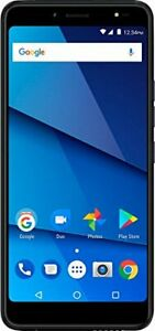 """BLU - Vivo One Plus with 16GB Memory Cell Phone Unlocked - Black 6"""" touch scr..."""