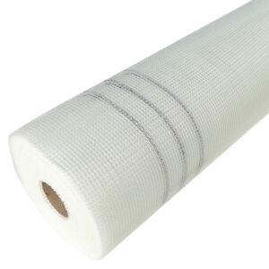 50m² Armierungsgewebe Putzgewebe 165g/m² Glasfaser 4mmx4mm WDVS Gittergewebe