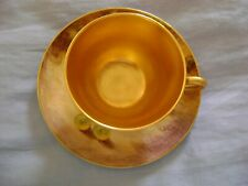 Royal Worcester Cup and Saucer Handpainted Fruits Signed J. Smith