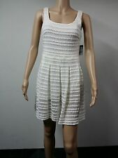NEW FAST to AUS - Guess - Sleeveless Knee Length Dress - Size 6 - White - $128