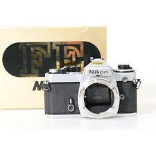 Nikon Fe 35mm Cámara Reflex en Cromo / Carcasa / Body / Cámara