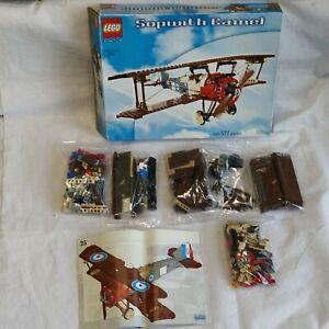 Vintage Lego Technic 3951 Sopwitch Camel Avion