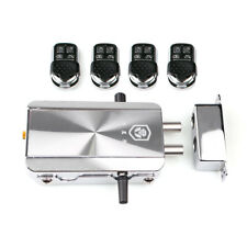 Remote Control Door Lock Wireless Anti-theft Security Lock Access Control System