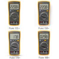 Fluke 15B+/17B+/18B+/12E+ Digital Multimeter DMM AC/DC/R/C Voltage Current Test