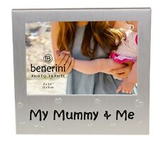 My Mummy and Me Photo Picture Frame Mother's Day Birthday Christmas Gift for Mum