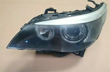 BMW 5 Series E60 E61 2003 - 2007 Pre LCI Headlight  Xenon Left Passenger Side