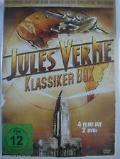 Jules Verne Klassiker Box Sammlung - Tauchfahrt des Grauens - Rakete zum Mond