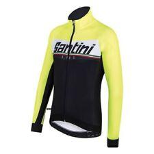 Ropa de ciclismo negro Santini talla L