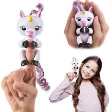 HOT Unicorno GIGI Dito Pet Elettronico Interattivo Bambini Giocattoli Regali di Natale 2017 Regno Unito