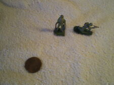 Lead Toy Soldiers (2), Antique, Wwii