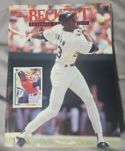 Beckett Baseball April1994 Michael Jordan Chicago White Sox Joe Carter Blue Jays