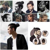 Curly Messy Bun Hair Piece Scrunchie Hair Extensions Real Human Unisex Men Women