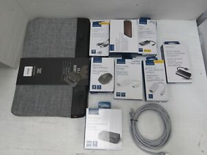 Lot of 10: Assorted Insignia Electronics Accessories for Laptop & Computer (Q14)