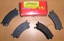 MAZDA 323 / 626 / MX-6 & FORD PROBE TRUEPART FRONT BRAKE PADS - DP9950