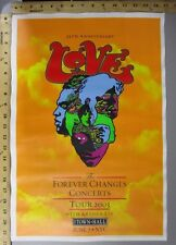 2003 Rock Roll Concert Poster 35th Love with Arthur Lee Dave Chapple NYC S/N 350