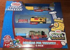 Thomas and Friends Trackmaster Digging For Treasure 3 Trains Thomas Gina Kevin