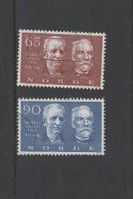 Noruega 1968 premios Nobel conjunto de 2 Fine Used