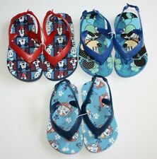Old Navy Disney Mickey & Friends Paw Patrol Flip-Flops Sandals Toddler Boys Blue