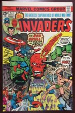 THE INVADERS #5 (March 1976, Marvel)
