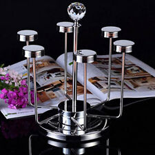 Kitchen Rack Tea Coffee Cup Holder 6 Mug Cups Rack Cup Stand Stainless 7747HC