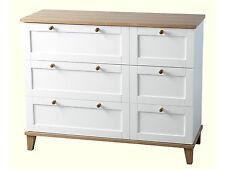 Arcadia White Ash Bedroom Furniture Seconique 3 Drawer Chest