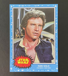 Han Solo -Star Wars: A New Hope- Topps Living Set #21 - PR: 2,276 Harrison Ford