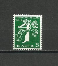 Suiza, 1939, Mi.344z, MNH