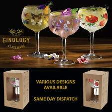 Range of Gin Copa Glasses By Ginology - Individually Gift Boxed Glassware New