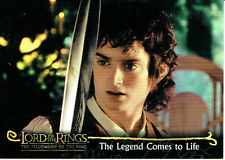 LORD OF THE RINGS FELLOWSHIP OF THE RING PROMOTIONAL CARD P1 (UK)