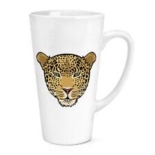 MUSO LEOPARDO 483ml GRANDE latte tazza - divertente animale gatto