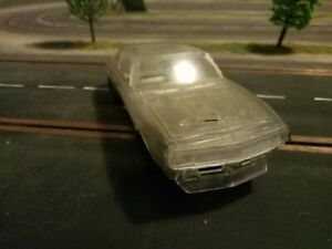 Pioneer slot car camaro clear