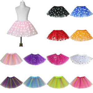 Toddler Kids Girls Fashion Tulle Sequin Princess Tutu Skirt Outfits Costume 2020