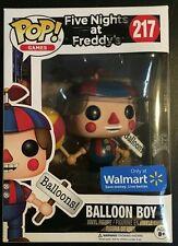 Funko Pop Balloon Boy #217 Walmart Exclusive Five Nights at Freddy's